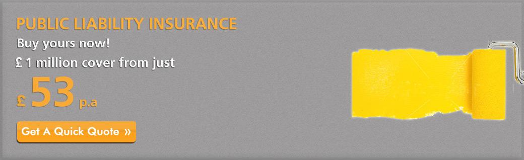 Painters And Decorators Public Liability Insurance Cheap Quotes Uk